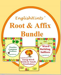 cover for the Root and Affix bundle showing the three packets included.