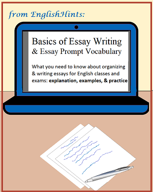 Practicing essay writing