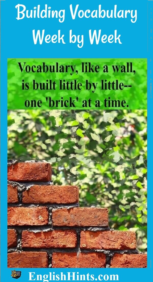 page name, then picture of a partially built brick wall and the text