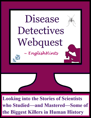 Disease Detectives Webquest (pdf) cover.