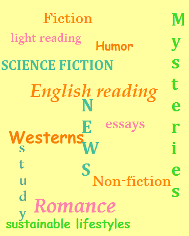 different types (genres) of English reading.