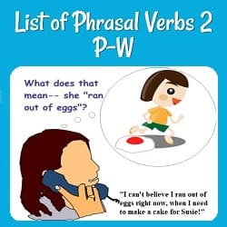 Phrasal Verb and Idiom Examples in a Conversation