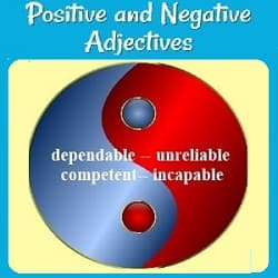 a blue & red yin-yang symbol with the words 'dependable' and 'competent' written on the blue side, and opposite each, on the red side: 'unreliable' & 'incapable.'