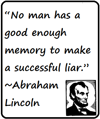 Quote from Abraham Lincoln: