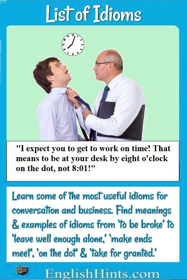 Picture of a boss grabbing his employee by the tie & saying