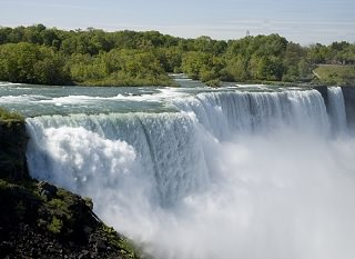 a photo of Niagara Falls (important in the first story Lewis tells.)