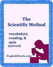 cover of Scientific Method packet: silhouette of a scientist looking through a microscope.